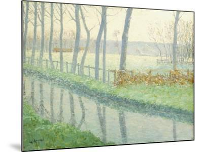 Le Sausseron, Nesles-La Vallee, C.1891-Gustave Loiseau-Mounted Giclee Print