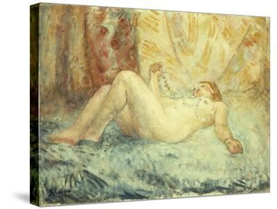 Reclining Nude-Henri Lebasque-Stretched Canvas Print