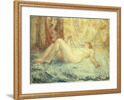 Reclining Nude-Henri Lebasque-Framed Giclee Print