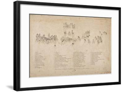 The Consecration of the Emperor Napoleon I and the Coronation of the Empress Josephine-Jacques-Louis David-Framed Giclee Print