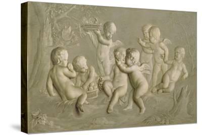 Juvenile Bacchanalia, 1783-Grigoriy Ivanovich Ugryumov-Stretched Canvas Print