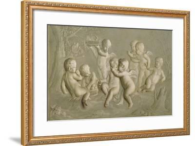 Juvenile Bacchanalia, 1783-Grigoriy Ivanovich Ugryumov-Framed Giclee Print