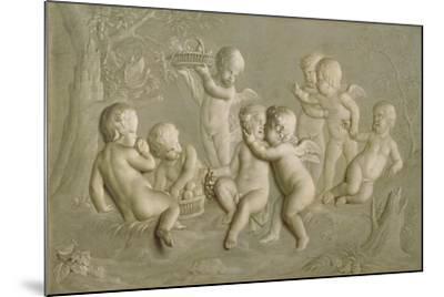 Juvenile Bacchanalia, 1783-Grigoriy Ivanovich Ugryumov-Mounted Giclee Print