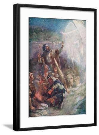 The Nativity-Harold Copping-Framed Giclee Print