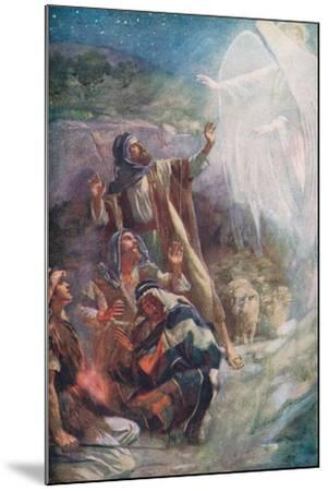 The Nativity-Harold Copping-Mounted Giclee Print