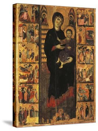 Majesty-Guido da Siena-Stretched Canvas Print