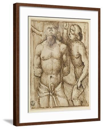 San Sebastian-Jacopo De Barbari-Framed Giclee Print
