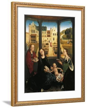 Madonna and Child in a Garden, 1494, Capilla Real, Granada, Spain-Hans Memling-Framed Giclee Print