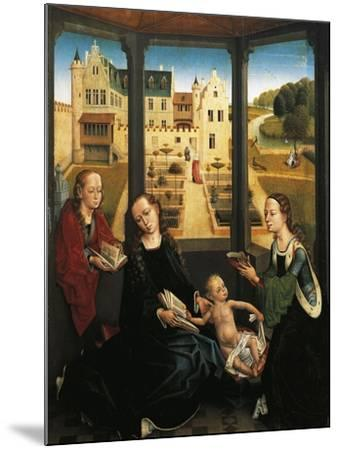 Madonna and Child in a Garden, 1494, Capilla Real, Granada, Spain-Hans Memling-Mounted Giclee Print