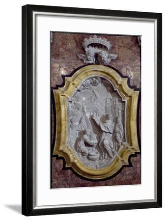 Episode from Life of Saint Benedict Relief-Giovanni Marino-Framed Giclee Print