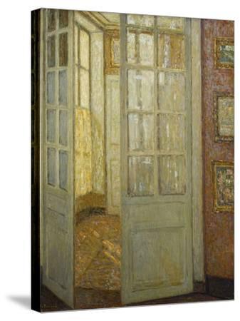 Intimite Rose Et Or, Versailles, 1930-Henri Eugene Augustin Le Sidaner-Stretched Canvas Print