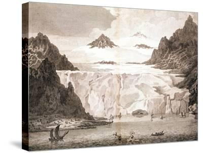 View of an Iceberg from a Voyage Towards the North Pole Undertaken by His Majesty's Command, 1774-John Cleveley the Younger-Stretched Canvas Print