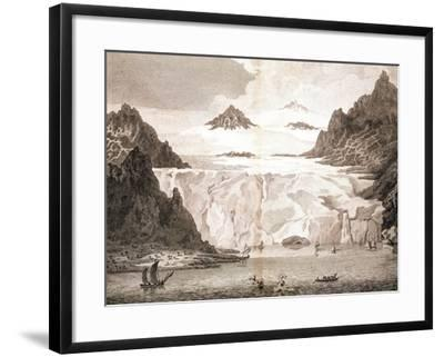 View of an Iceberg from a Voyage Towards the North Pole Undertaken by His Majesty's Command, 1774-John Cleveley the Younger-Framed Giclee Print