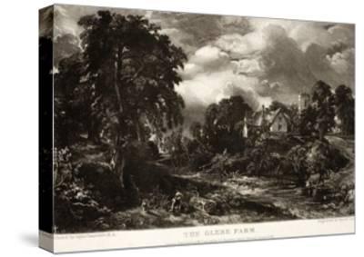 The Glebe Farm-John Constable-Stretched Canvas Print
