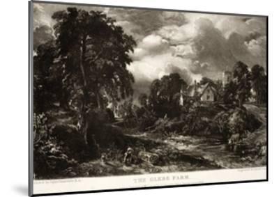 The Glebe Farm-John Constable-Mounted Giclee Print