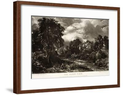 The Glebe Farm-John Constable-Framed Giclee Print