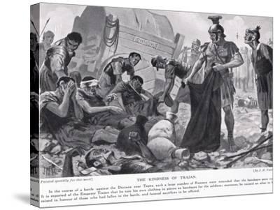 The Kindness of Trajan-John Harris Valda-Stretched Canvas Print