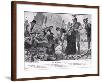 The Kindness of Trajan-John Harris Valda-Framed Giclee Print