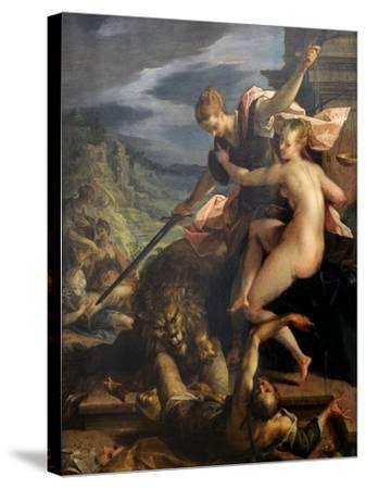 The Triumph of Truth, 1598-Johann von Aachen-Stretched Canvas Print