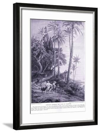 Abraham Enters the Land of Palestine 2250 Bc-Johann Wilhelm Schirmer-Framed Giclee Print