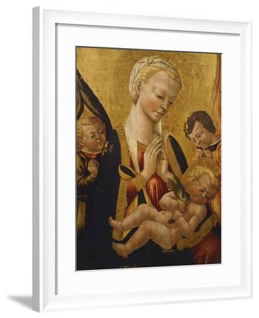 Madonna with Child- Neri of Bicci-Framed Giclee Print