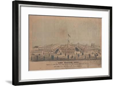 Camp William Penn, C.1864-Louis N. Rosenthal-Framed Giclee Print