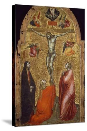 Crucifixion-Niccolo di Pietro Gerini-Stretched Canvas Print