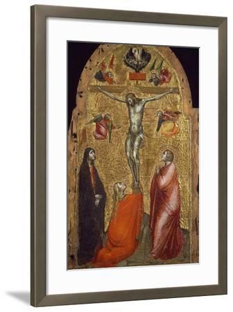 Crucifixion-Niccolo di Pietro Gerini-Framed Giclee Print