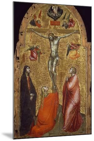 Crucifixion-Niccolo di Pietro Gerini-Mounted Giclee Print