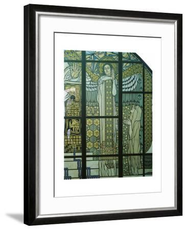 Paradise, Stained Glass Window Giclee Print by Kolo Moser   Art com