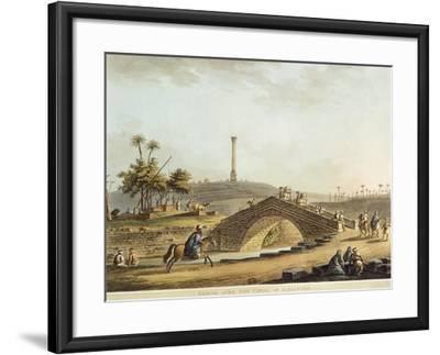 Egypt, Bridge over Alexandria Canal, 1804-Luigi Mayer-Framed Giclee Print