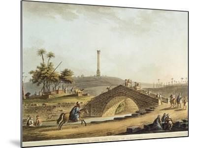 Egypt, Bridge over Alexandria Canal, 1804-Luigi Mayer-Mounted Giclee Print
