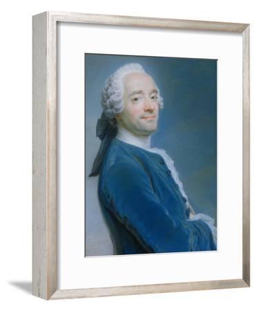 Self Portrait-Maurice Quentin de La Tour-Framed Giclee Print