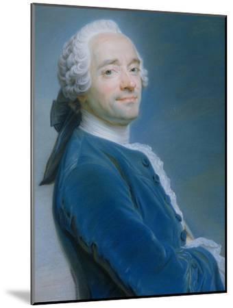 Self Portrait-Maurice Quentin de La Tour-Mounted Giclee Print