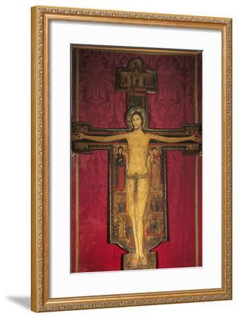 Wooden Cross, 13th Century-Maestro Guglielmo-Framed Photographic Print