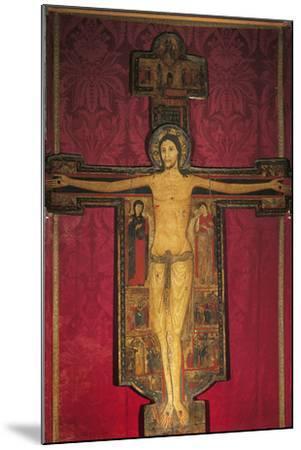 Wooden Cross, 13th Century-Maestro Guglielmo-Mounted Photographic Print