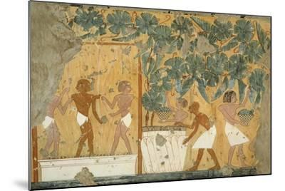 Ancient Egyptian Painting, 1936-Nina M. Davies-Mounted Giclee Print