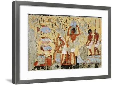 Ancient Egyptian Painting, 1936-Nina M. Davies-Framed Giclee Print