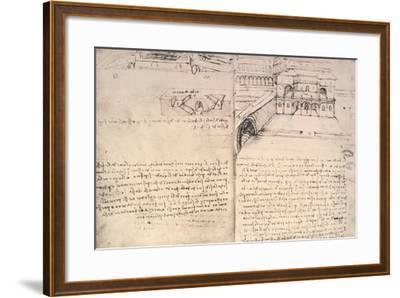 Staircase-Leonardo da Vinci-Framed Giclee Print