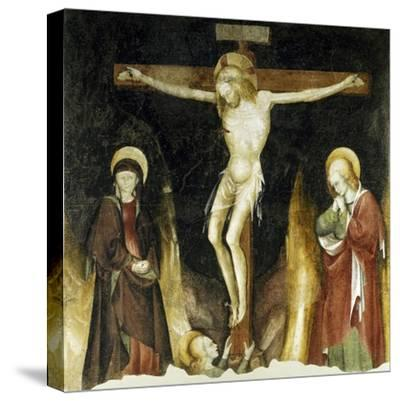 Crucifixion-Michelino Da Besozzo-Stretched Canvas Print