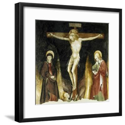 Crucifixion-Michelino Da Besozzo-Framed Giclee Print