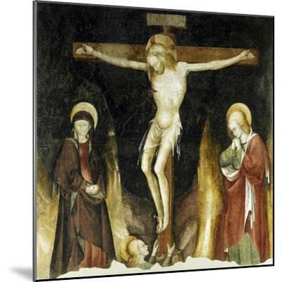 Crucifixion-Michelino Da Besozzo-Mounted Giclee Print