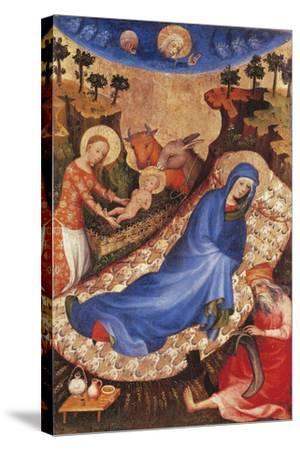 Nativity-Melchior Broederlam-Stretched Canvas Print