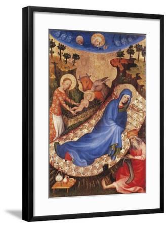 Nativity-Melchior Broederlam-Framed Giclee Print