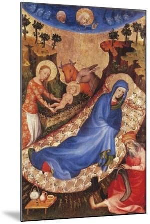 Nativity-Melchior Broederlam-Mounted Giclee Print