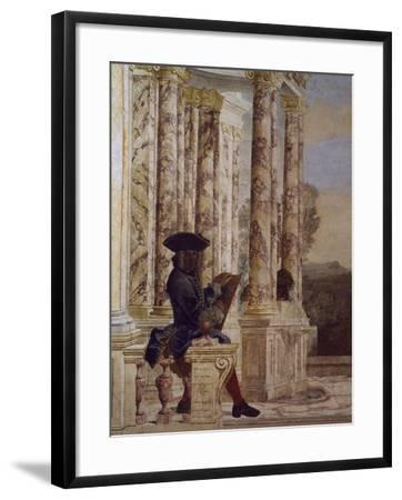 Detail from Fresco-Leone Ghezzi-Framed Giclee Print