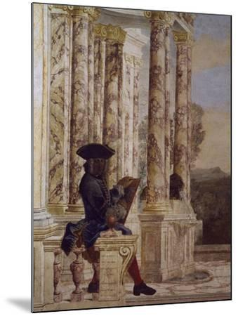 Detail from Fresco-Leone Ghezzi-Mounted Giclee Print