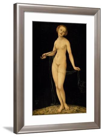 Lucretia-Lucas Cranach the Elder-Framed Giclee Print