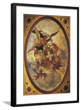 The Genius of Savoy, 1883-1884-Mose Bianchi-Framed Giclee Print