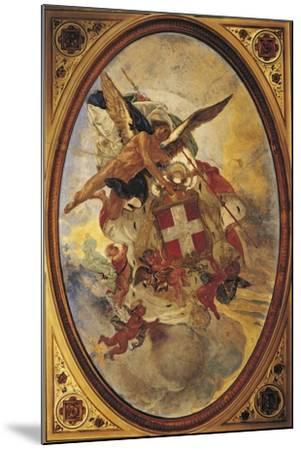 The Genius of Savoy, 1883-1884-Mose Bianchi-Mounted Giclee Print